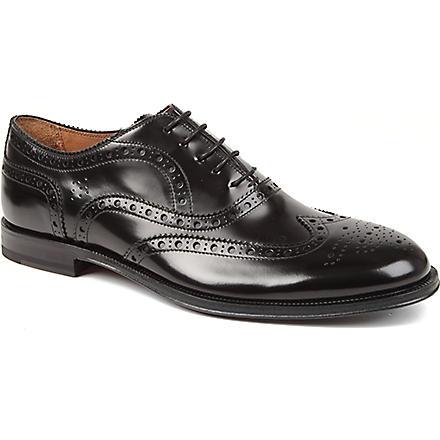 PAUL SMITH Jacob leather brogues (Black