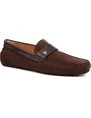 BALLY Weko side crest driving shoes