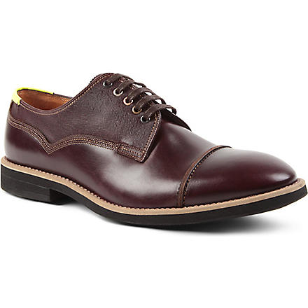 PAUL SMITH Skull Derby shoes (Wine