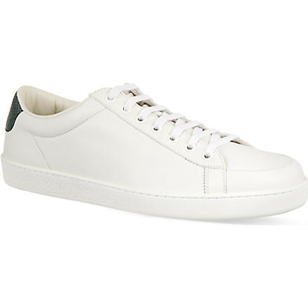 GUCCI Brooklyn low top trainers (White