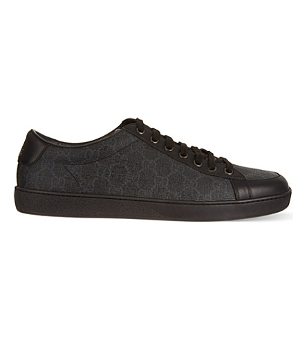 GUCCI Brooklyn GG low tops (Grey