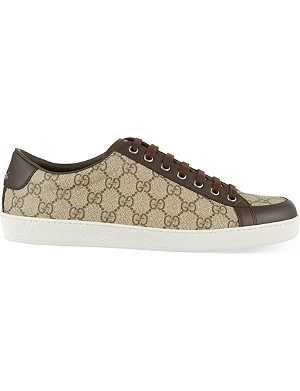 GUCCI Brooklyn GG low top trainers