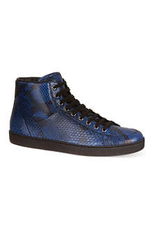 GUCCI Brooklyn exotic high tops