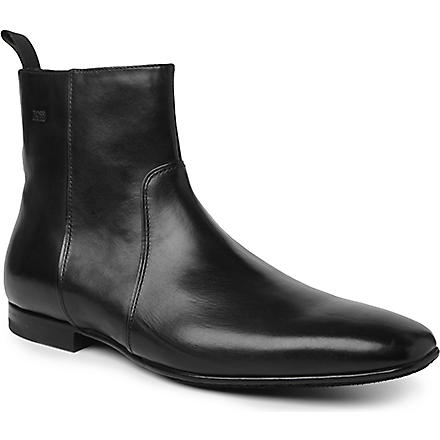 HUGO BOSS Hannor zip boots (Black