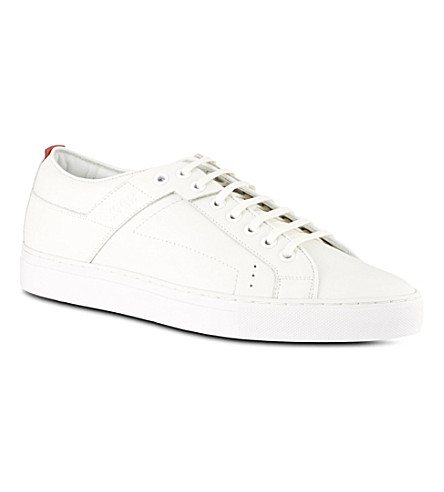 HUGO BOSS Futesio tennis trainers (White