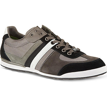 HUGO BOSS Akeen lo pro trainers (Grey/m.cmb