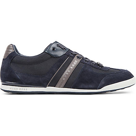 HUGO BOSS Akeen Lo Pro trainers (Navy