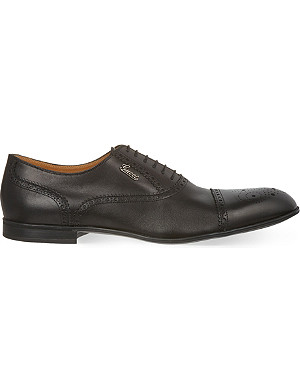 GUCCI Chiaia Oxford shoes