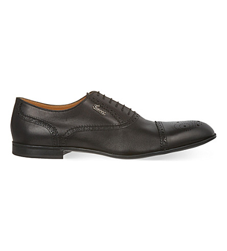 GUCCI Chiaia Oxford shoes (Black