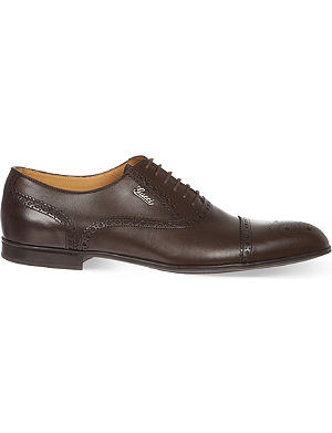 GUCCI Chiaia toecap Oxford shoes