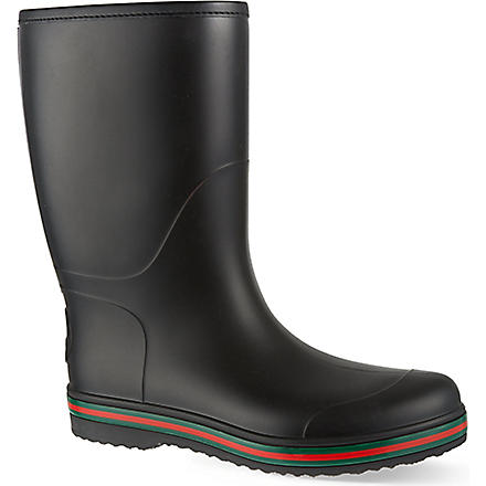 GUCCI Brest wellies (Black