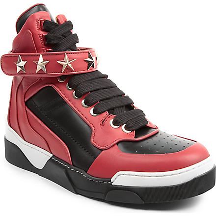 GIVENCHY High-top trainers (Red/other