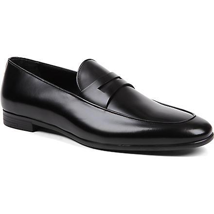 ERMENEGILDO ZEGNA Penny loafers (Black