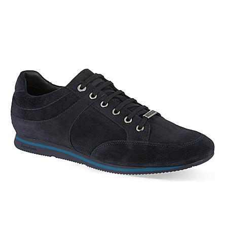 ERMENEGILDO ZEGNA Retro Runner trainers (Blue