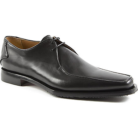 OLIVER SWEENEY Napoli apron Derby shoes (Black