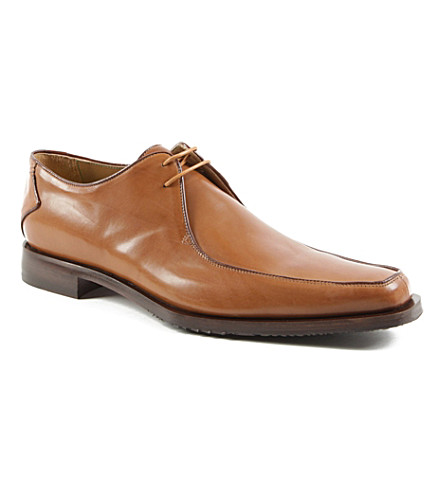 OLIVER SWEENEY Napoli apron Derby shoes (Tan