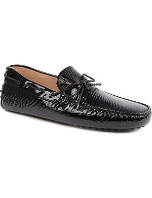 TODS Pat scoubidou driver shoes