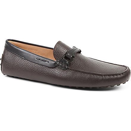 TODS Gommino heaven driving shoes in leather (Brown