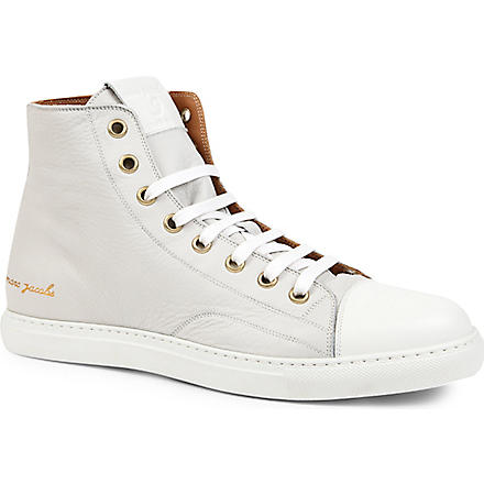 MARC JACOBS Parker high-top trainers (White