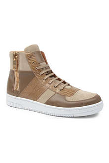 MARC JACOBS Zip high-top trainers