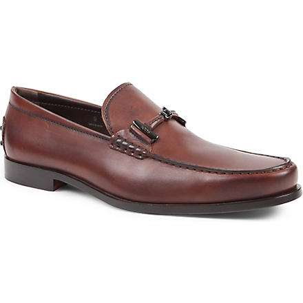 TODS Horsebit loafers (Tan