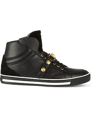 VERSACE Medusa strap high tops