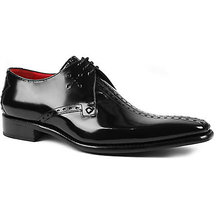 JEFFERY WEST Dashwood Destiny Derby shoes (Black