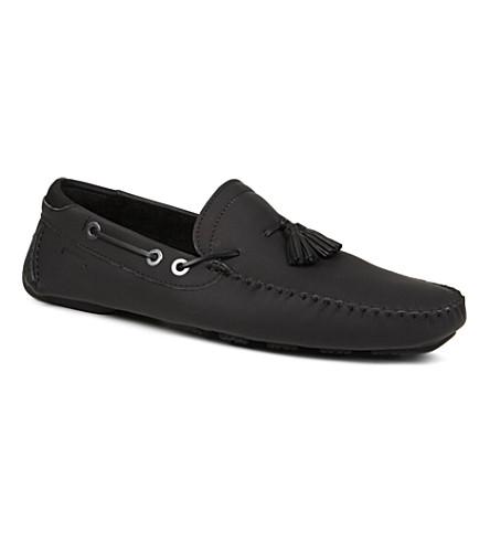 PIRELLI Clapton shearling driving shoes (Black