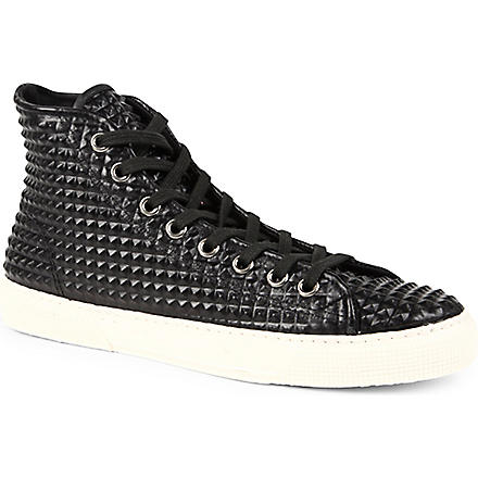 KURT GEIGER Dexter high-top trainers (Black