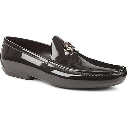 VIVIENNE WESTWOOD Skull and crossbone loafers (Black