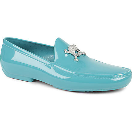 VIVIENNE WESTWOOD Skull loafers (Green