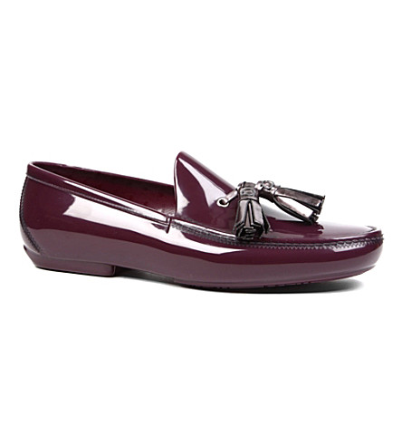 VIVIENNE WESTWOOD Tassel loafers (Purple