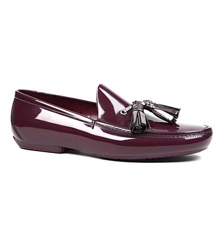 VIVIENNE WESTWOOD Tassel loafers (Purple