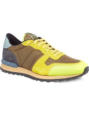 VALENTINO Plain running trainers
