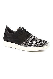 OFFICINE CREATIVE Woven runner trainers