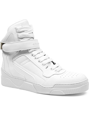 GIVENCHY Leather high-top trainers