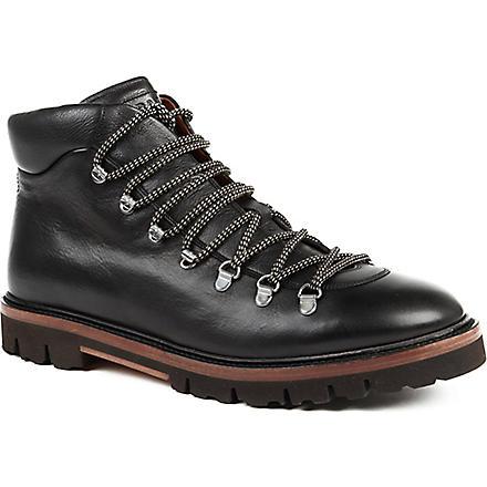 BALLY Graf climbing boots (Black