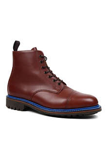 MARK MCNAIRY English toe cap boots