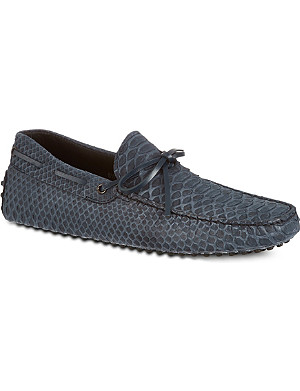 TODS Gommino heaven driving shoes in python