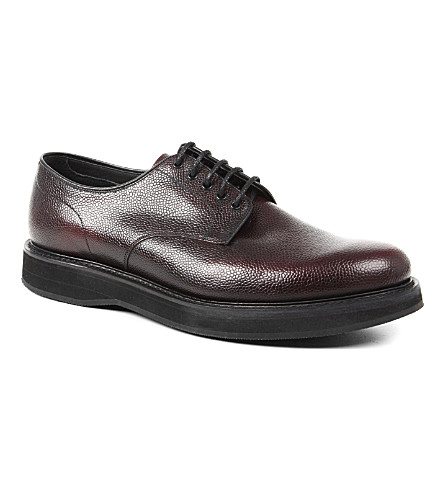 CHURCH Leyton wedge Derby shoes (Wine