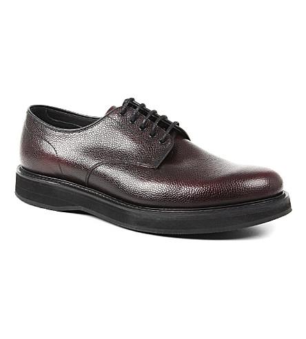 CHURCH Leyton wedge Derby shoes (Wine