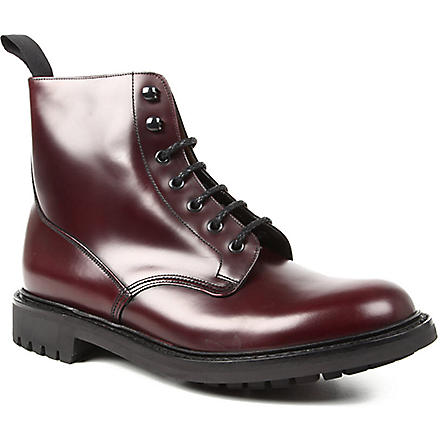 CHURCH McDuff 2 derby boots (Wine