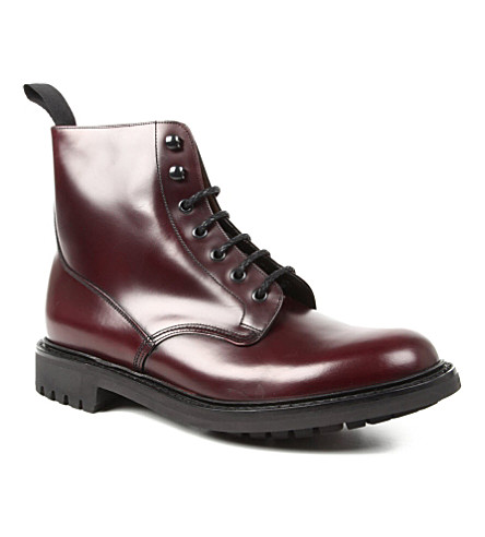 CHURCH McDuff 2 derby boots (Wine