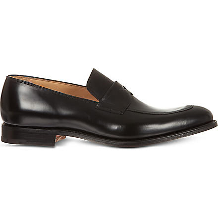 CHURCH Prague leather penny loafers (Black