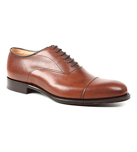 CHURCH Buckden toe-cap Oxford shoes (Tan
