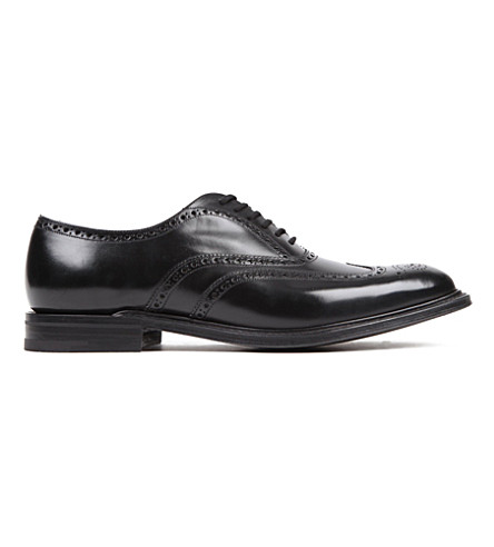 CHURCH Rome Oxford brogue shoes (Black
