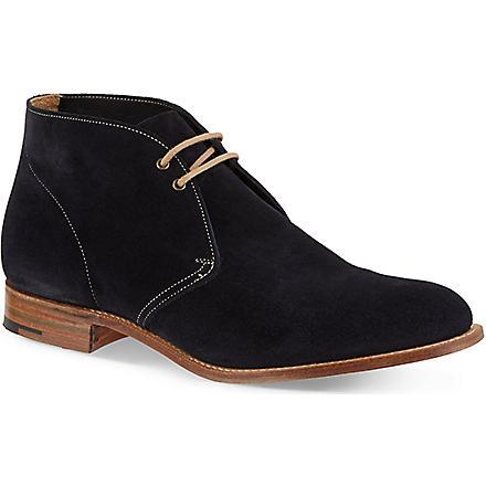 CHURCH Sahara suede chukka boots (Navy