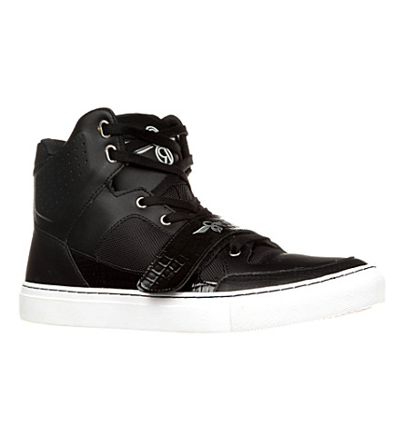 CREATIVE RECREATION Cota high-top trainers (Black