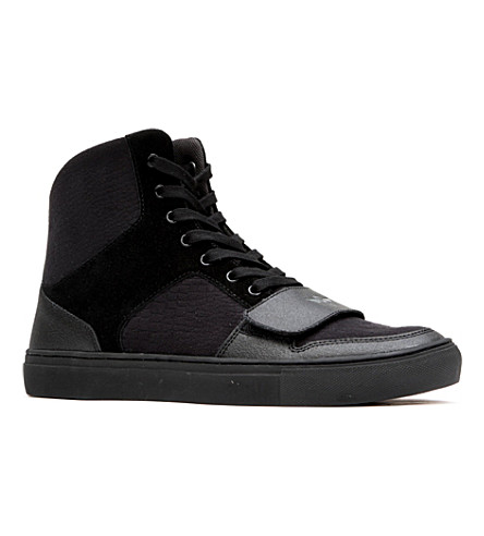 CREATIVE RECREATION Cesario high-top trainers (Black