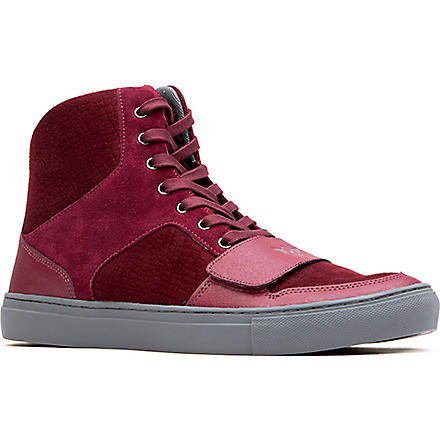 CREATIVE RECREATION Cesario high-top trainers (Red